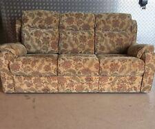 Boston / Hudson Three seater Sofa In Baslow Floral Gold RRP £1799