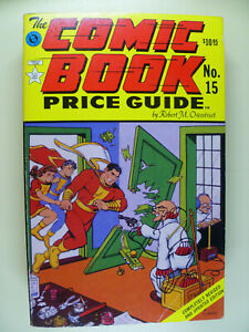 15th Edition The Comic Book Price Guide 1985 - 86 Robert M. Overstreet Blue Book