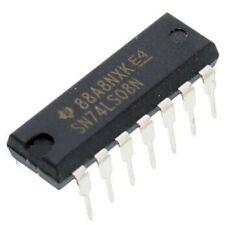 2-input AND Gates  IC  DIP /'/'UK COMPANY SINCE 1983 NIKKO/'/' HD74LS08P  Quad
