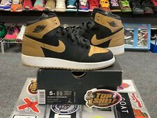 Nike Air Jordan 1 Melo Size 5 Vintage Vtg Authentic Rare Vnds Gold Basketball Mj