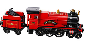 LEGO Hogwarts Express 75955 Locomotive and tender only taken from NEW set.