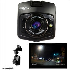 Car Dash Cam DVR Video Recorder HD Camera G-Sensor Camcorder with Microphone 12V