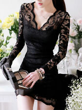 Unbranded Lace Floral Clubwear Dresses for Women