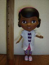"""Disney Junior Jr. Doc McStuffins 9"""" Doll Moveable Legs Head Arms"""