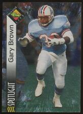 1994 Pro Line Live Spotlight Gary Brown #PB23 Houston Oilers