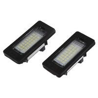 1X(Lot de 2 lampes 24 LED 3528 pour plaques d'immatriculation de BMW E39 E60 8T