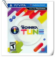 PSV DJ MAX Technika Tune Sony PlayStation Vita Music Games Pentavision