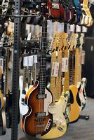 Hofner Ignition Electric Violin Bass Guitar, Sunburst