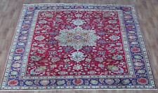 OLD WOOL HAND MADE ORIENTAL FLORAL RUNNER AREA RUG CARPET 358 X 255 CM