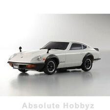 Kyosho MR-03S Mini-Z Racer Nissan Fairlady 240ZG White Ready Set - KYO32214W-B