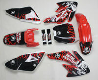 3M Graphics Decals Stickers Red Plastics For Honda CRF 70 CRF70 Pit Dirt Bike #5