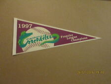 Canton Crocodiles 1997 Frontier League Champs Pennant