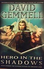 DAVID GEMMELL HERO IN THE SHADOWS BOOK 9 DRENAI SAGA HCDJ 2000 1ST ED NEW RARE