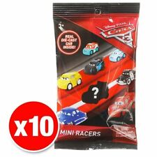 Disney Pixar Cars 3 Mini Racers Vehicles Set of 10 Cars