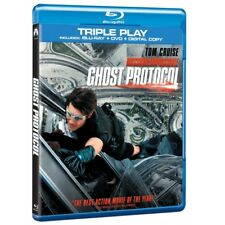 Mission Impossible Ghost Protocol Triple Play Blu-ray DVD & Digital Copy