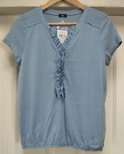schönes Blusenshirt, Shirt, Gerry Weber, blau, Gr. 36, Neu mit Etikett, NP 29,95