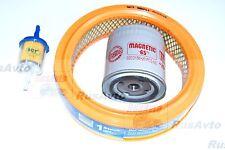 Luftfilter, Ölfilter ( -65 Grad )  , Benzinfilter LADA NIva 2121 1.6L 1600