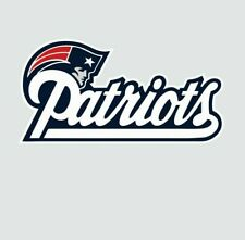 New England Patriots NFL Football Color Sports Decal Sticker-Free Shipping