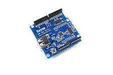 Arduino UNO USB Host Genuine Keyes Shield ICSP Funduino Google ADK Flux Workshop