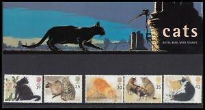 1995 GB Cats Royal Mail Presentation Pack No.254