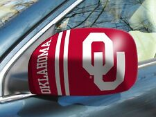 Licensed Ncaa Oklahoma Sooners Car Mirror Covers (2-Pack) - Cars/Small Suv's