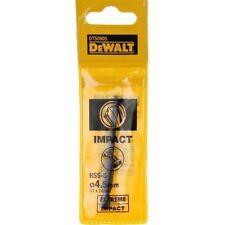 DEWALT 4.5MM IMPACT EXTREME METAL DRILL BIT DT50605  NEW