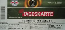 TICKET UEFA EL 2016/17 FC Salzburg - FC Schalke 04
