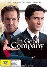 In Good Company DVD Dennis Quaid Scarlett Johansson BRAND NEW SEALED Region 4