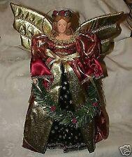 1997 FLORENTINE Christmas Xmas Large Bisque ANGEL TREETOPER House of Lloyd w/Box