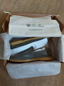 Loro Piana Open Summer Walk shoes loafers boots - UK 10 EU 44