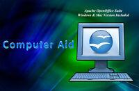 Open Office 4.1.2 Suite - Win & Mac Version - CD - OLD VERSION