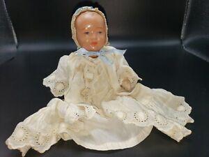 """Vintage Antique German Celluiod Schutz-Marke 7""""  Baby Doll"""