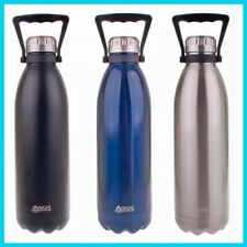 Oasis Drink Bottle 1.5L Double Walled Vacuum Insulated Stainless Steel Water