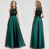 US Ever-Pretty Retro Lace Long Evening Party Dress Cocktail Homecoming Prom Gown