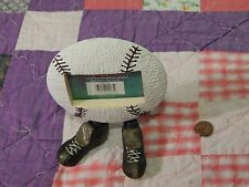"""Footed Friends (Picture Frame) 2""""x 3"""" - Baseball Decor - Swivel Feet *New* Mlb"""