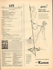 WWII '43 mag. ad 114 for Kayser Hosiery, Gloves, Underthings, Nylon - ad only