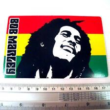 Bob Marley Reggae Decals Sticker size 13x8.5 cm.