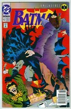 Batman #492 May 1993 F/VF Bane, Knightfall Begins, Mad Hatter