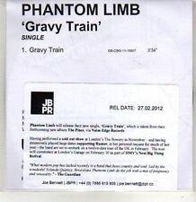 (CS23) Phantom Limb, Gravy Train - 2012 DJ CD