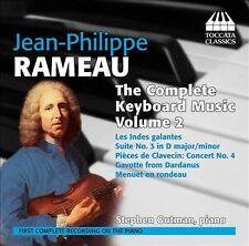 Jean-Philippe Rameau Musique pour clavier (Intégrale - volume 2), New Music