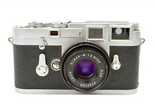 Leica M3 DBP double stroke 35mm film camera & Elmar-M 50mm f/2.8 lens