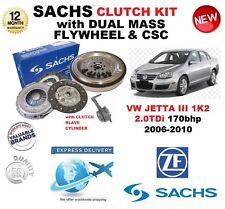 POUR VW JETTA 1K2 2.0 TDi 170bhp SACHS KIT EMBRAYAGE 06-10 w. VOLANT MOTEUR