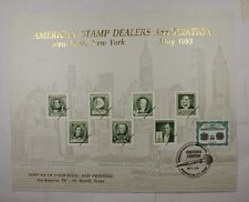 BEP souvenir card B 169 TNA 1993 back 1902 $100 Plain Visitors center cancelled