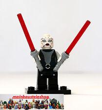Lego Star Wars Minifigur, Figuren, sw318 Asajj Ventress m. Lichtschwerter, 7957