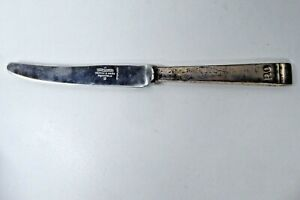 VINTAGE P&O SHIP STAINLESS STEEL KNIFE DINING HALL STEAM SHIPPING MAPPIN & WEBB
