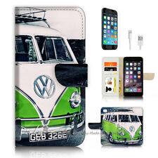( For iPhone 6 / 6S ) Wallet Case Cover P3375 Kombi Van