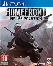 PS4 Homefront The Revolution Nuevo Precintado Pal España