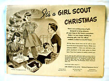 CATALOG Girl Scout 1950 RARE New Old Stock Clothing Dolls Jewelry CHRISTMAS GIFT