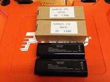 2 BATTERIES FOR PASLODE NAIL GUNS 6V 404717 1.3AH NI-CD
