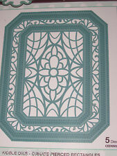 "CREATIVE EXPRESSIONS NOBLE DIES ""ORNATE PIERCED RECTANGLE"" CED5502 CARDS/SCRAPBK"